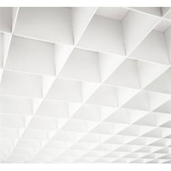 Plafonds alvéolaires résilles