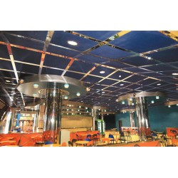 Plafonds en métal étiré