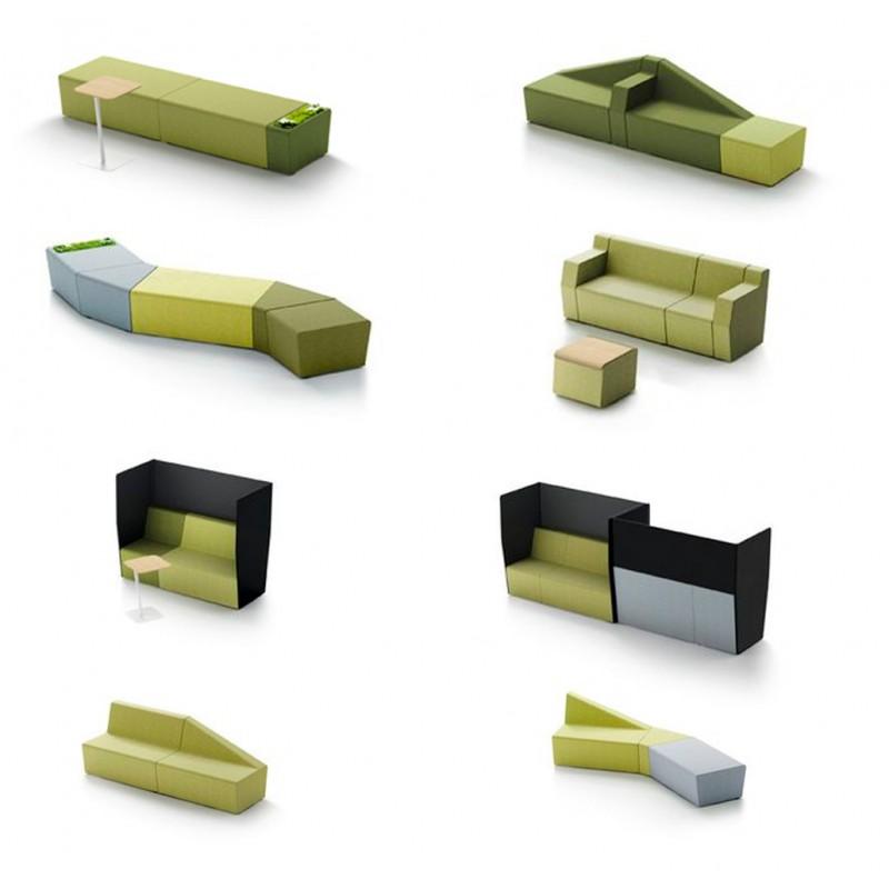 Attente fauteuils et canaps MENDI mobilier de bureau professionnel