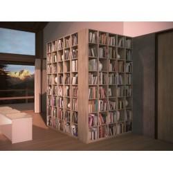 Bibliothèque et rangements sur mesure - Gamme Créative