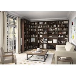 Bibliothèque toute hauteur sur mesure - Gamme Créative