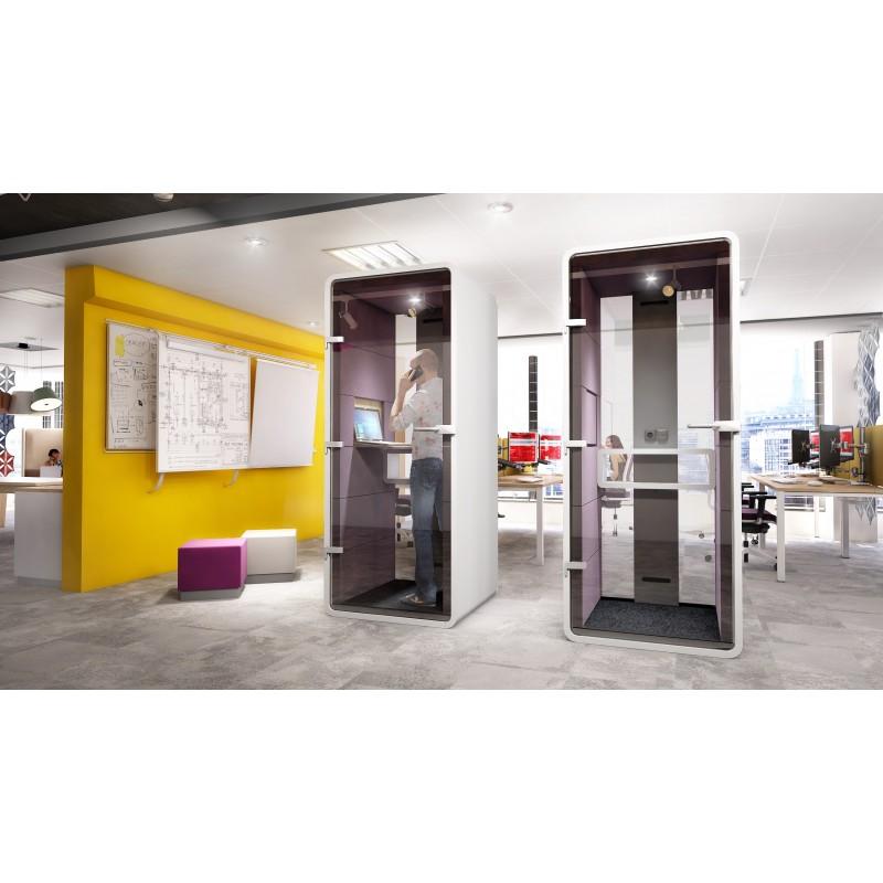 cabine t l phonique bureau techniconcept. Black Bedroom Furniture Sets. Home Design Ideas