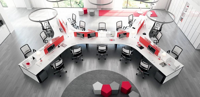 Flambant neuf Mobilier de bureau professionnel, aménagement d'espace de travail  QR47